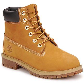 Sapatos Criança Botas baixas Timberland 6 IN PREMIUM WP BOOT Conhaque