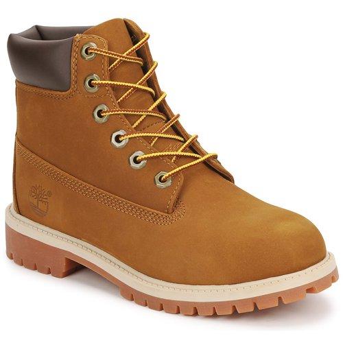 Sapatos Criança Botas baixas Timberland 6 IN PREMIUM WP BOOT Castanho / Mel