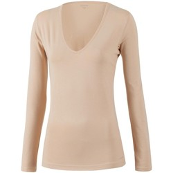 Textil Mulher T-shirt mangas compridas Impetus Innovation Woman 8361898 144 Bege