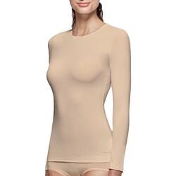 Textil Mulher T-shirt mangas compridas Impetus Innovation Woman 8368898 144 Bege