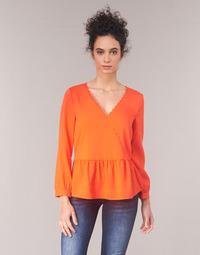 Textil Mulher Tops / Blusas Vila VIROSSIE Laranja