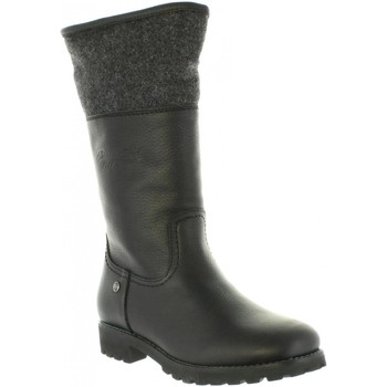 Sapatos Mulher Botas Panama Jack BELINDA B2 Negro