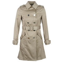 Textil Mulher Trench Marciano FAB Bege