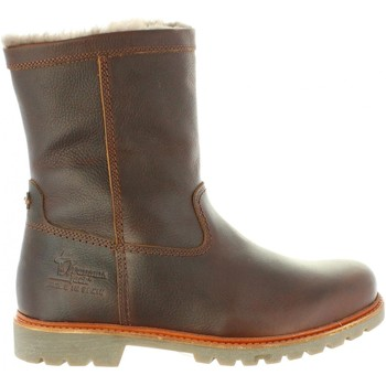 Sapatos Homem Botas baixas Panama Jack FEDRO IGLOO C10 NAPA GRASS CASTANO Marrón
