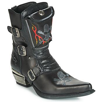 Sapatos Homem Botas New Rock M-WST024-S3 Preto