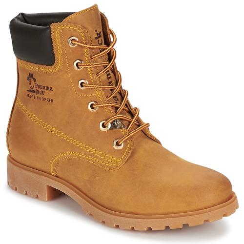 Sapatos Mulher Botas baixas Panama Jack PANAMA Amarelo