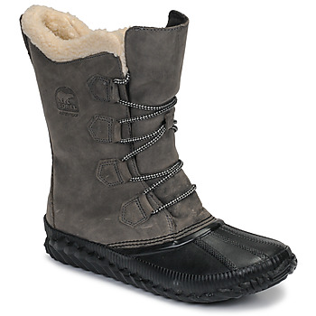 Sapatos Mulher Botas de neve Sorel OUT N ABOUT PLUS TALL Cinza