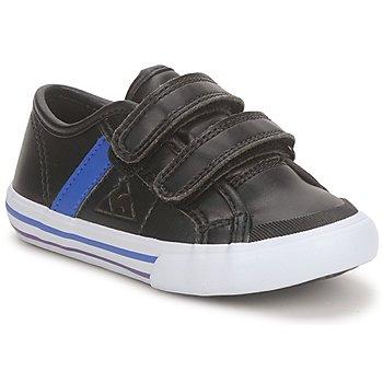 Sapatos Rapaz Sapatilhas Le Coq Sportif SAINT MALO Preto / Azul