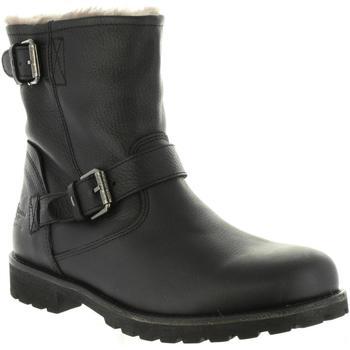 Sapatos Homem Botas Panama Jack FAUST IGLOO C18 Negro