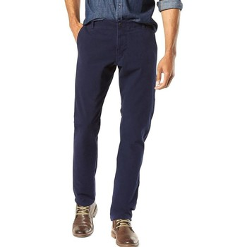 Textil Homem Calças Dockers ALPHA KHAKI 360 azul