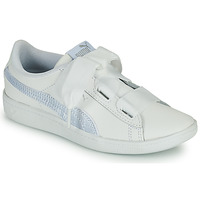 Sapatos Criança Sapatilhas Puma VIKKY RIB PS BL Branco