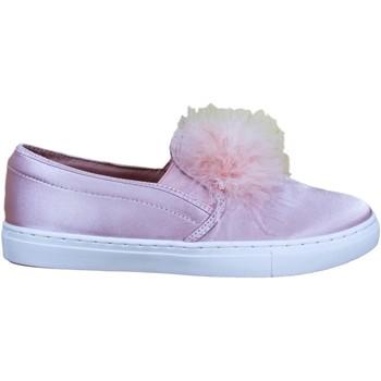 Sapatos Mulher Slip on Buonarotti 1JB-18237 Rosa