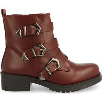 Sapatos Mulher Botas baixas Laik TY-895 Burdeos