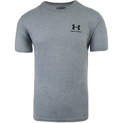 Textil Homem T-Shirt mangas curtas Under Armour Sportstyle Left Chest Cinzento