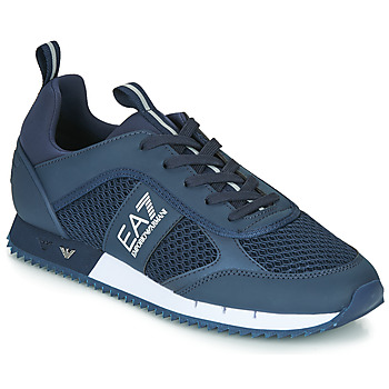 Sapatos Homem Sapatilhas Emporio Armani EA7 BLACK&WHITE LACES U Azul