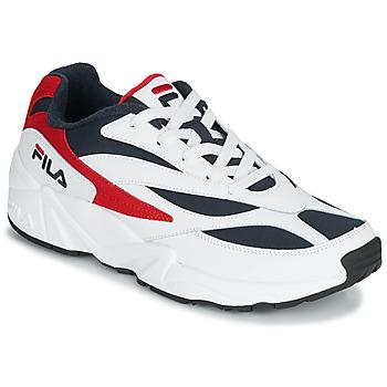 Sapatos Homem Sapatilhas Fila V94M LOW Branco / Vermelho