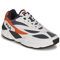 Sapatos Homem Sapatilhas Fila V94M R LOW Branco / Laranja