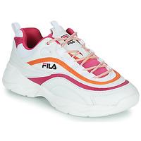 Sapatos Mulher Sapatilhas Fila RAY CB LOW WMN Branco / Rosa / Laranja