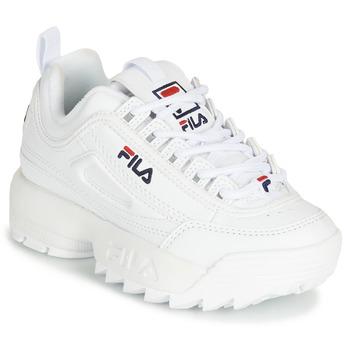 Sapatos Criança Sapatilhas Fila DISRUPTOR KIDS Branco