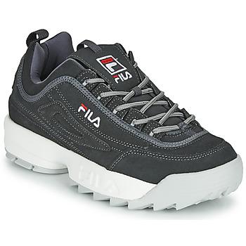 Sapatos Homem Sapatilhas Fila DISRUPTOR LOW Cinza