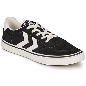 Sapatos Sapatilhas Hummel STADIL 3.0 SUEDE Preto / Branco