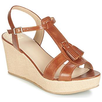 Sapatos Mulher Sandálias Bocage HERLE Conhaque
