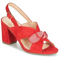 Sapatos Mulher Sandálias Bocage PAULIN Vermelho