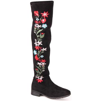 Sapatos Mulher Botas Berluskas L Boot Lady Preto
