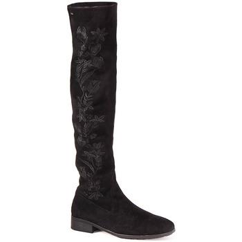 Sapatos Mulher Botas altas Berluskas L Boot Lady Preto