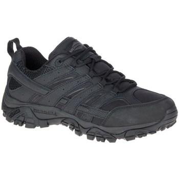 Sapatos Homem Sapatos de caminhada Merrell Moab 2 Tactical Preto