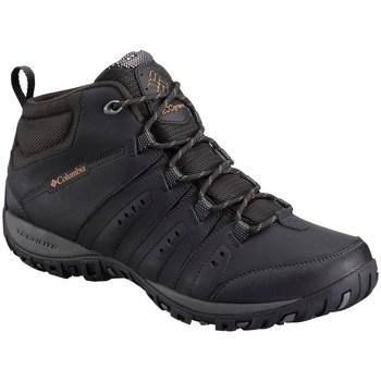 Sapatos Homem Sapatos de caminhada Columbia Woodburn II Chukka Waterproof Preto