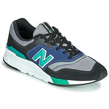 Sapatos Homem Sapatilhas New Balance 997 Preto / Azul