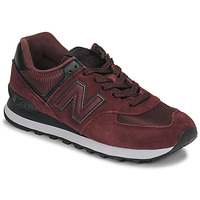 Sapatos Mulher Sapatilhas New Balance 574 Bordô
