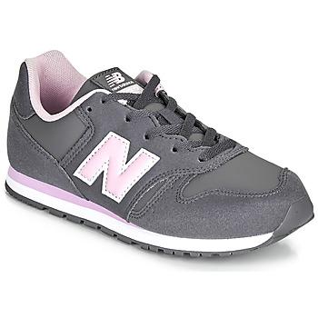 Sapatos Rapariga Sapatilhas New Balance 373 Cinza / Rosa