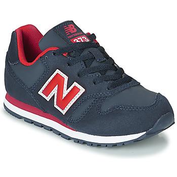 Sapatos Criança Sapatilhas New Balance 373 Azul / Vermelho