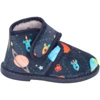 Sapatos Rapaz Chinelos Blaike BS50 Azul