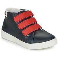 Sapatos Rapariga Sapatilhas Faguo ASPENLOW LEATHER Azul
