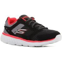 Sapatos Criança Sapatilhas de corrida Skechers Go Run 400 97681L-BGRD black, red, grey