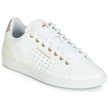Sapatos Mulher Sapatilhas Le Coq Sportif COURTSTAR W BOUTIQUE Branco / Rosa