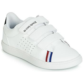 Sapatos Criança Sapatilhas Le Coq Sportif COURTSTAR PS SPORT BBR Branco