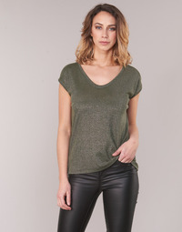 Textil Mulher Tops / Blusas Only ONLSILVERY Cáqui