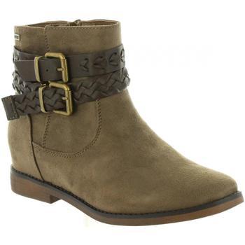 Sapatos Mulher Botins MTNG 50219 Marrón