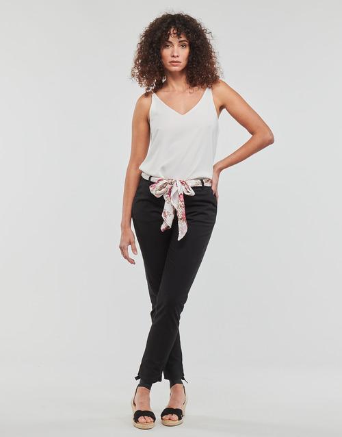 Textil Mulher Calças Betty London JIYOO Preto