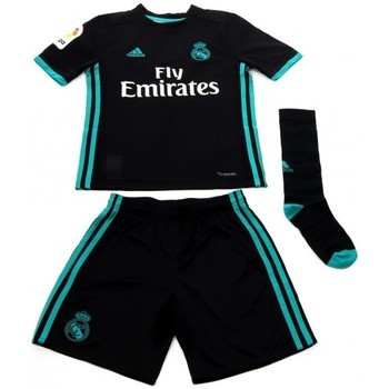 Textil Criança Conjunto adidas Originals Mini Kit Enfant Real de Madrid Noir