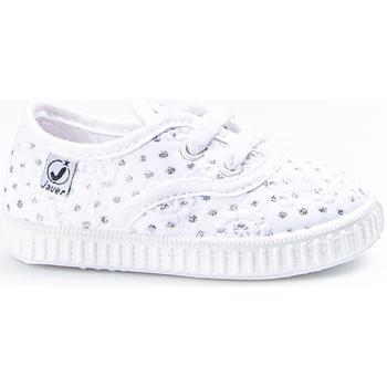 Sapatos Rapariga Sapatilhas Javer Zapatillas  60-10 Blanco Branco