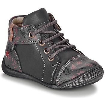 Sapatos Rapariga Botas baixas GBB OLSA Cinza / Rosa
