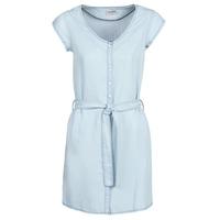 Textil Mulher Vestidos curtos Yurban kOULIENNE Azul / Claro
