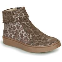 Sapatos Rapariga Botas baixas Catimini CAMOMILLE Castanho