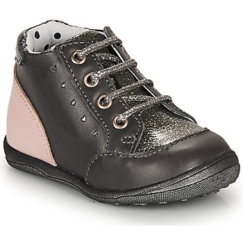 Sapatos Rapariga Botas baixas Catimini CLELIA Cinza / Rosa