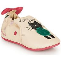 Sapatos Rapariga Chinelos Catimini CALICETTE Bege / Rosa